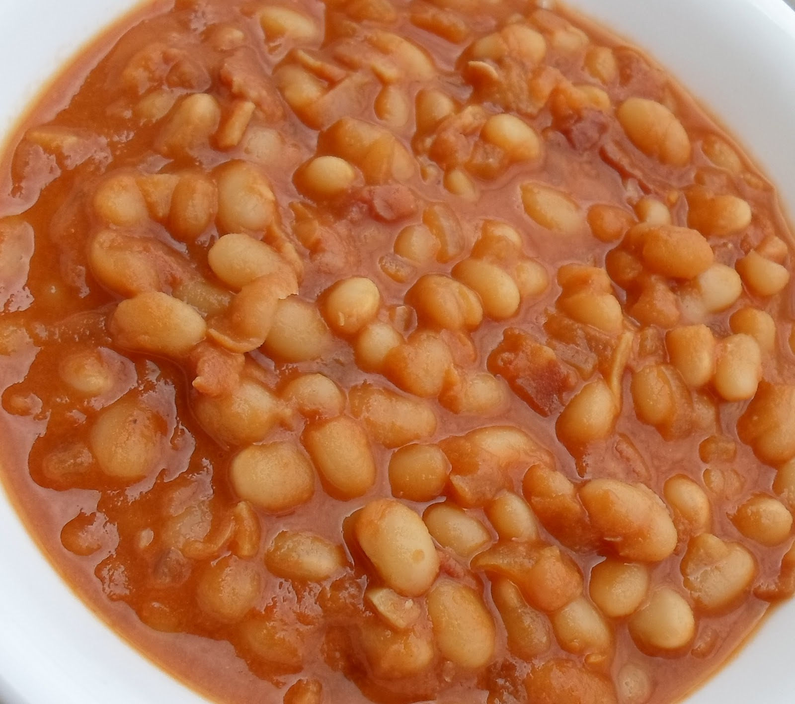 Happier Than A Pig In Mud: Pressure Cooked Boston Baked Beans