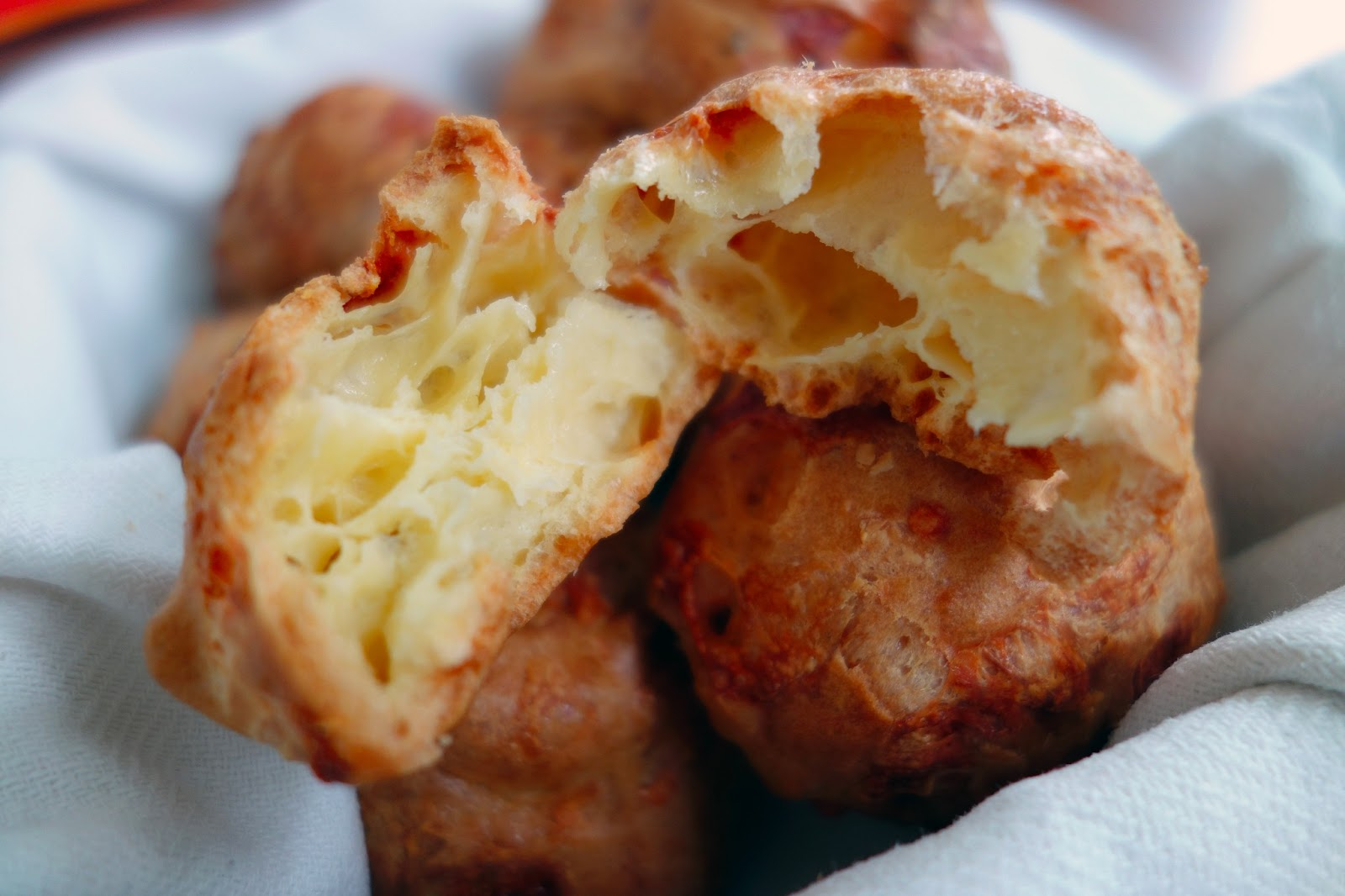 Gougères | French Cheese Puffs | FORGET THOSE CALORIES