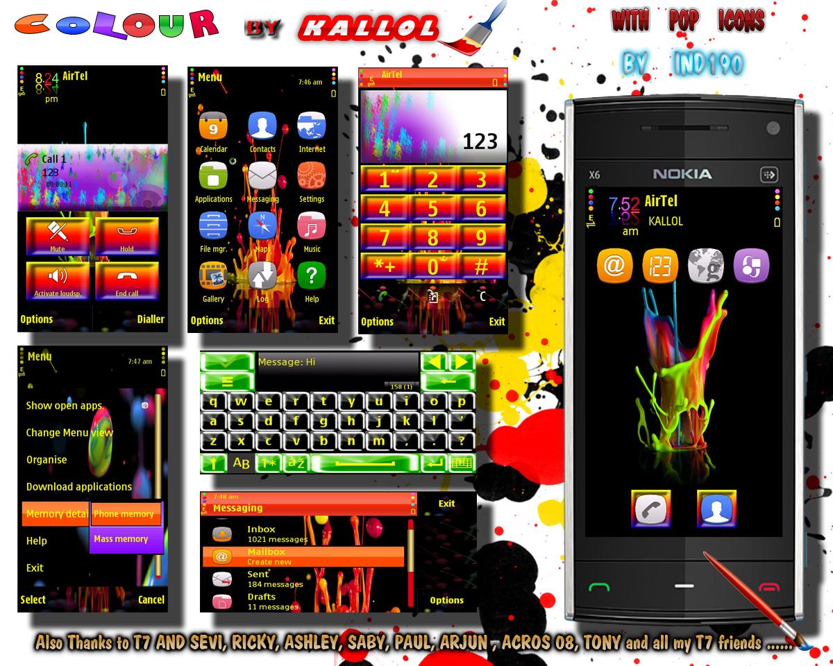 S60 Themes by Kallol: Colour