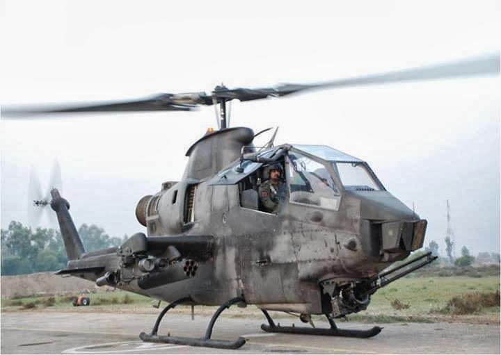 Pakistan Army Aviation Corps' AH-1F Cobra Attack ...