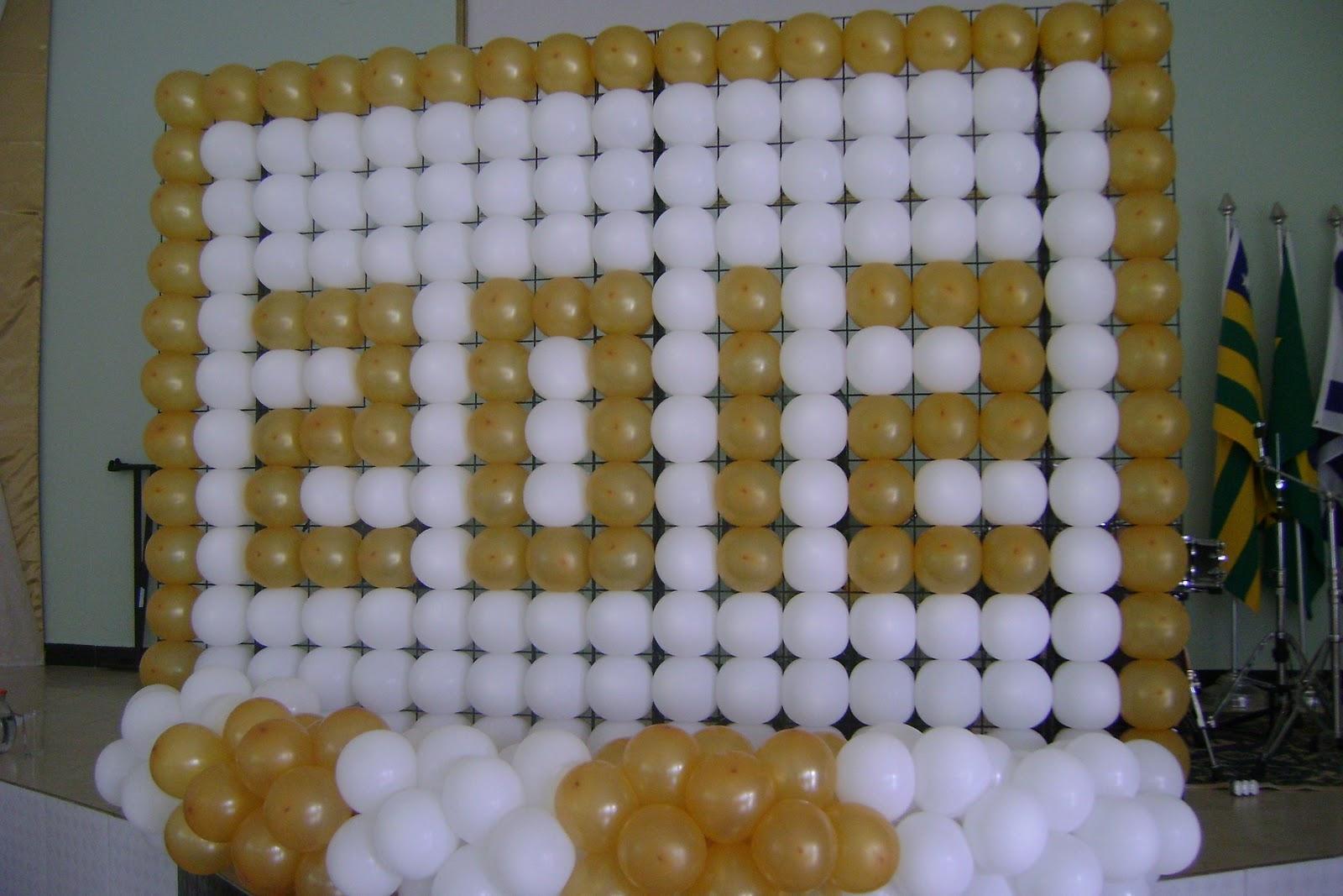 decoracao festa reveillon:Decoração com balões- Reveillon