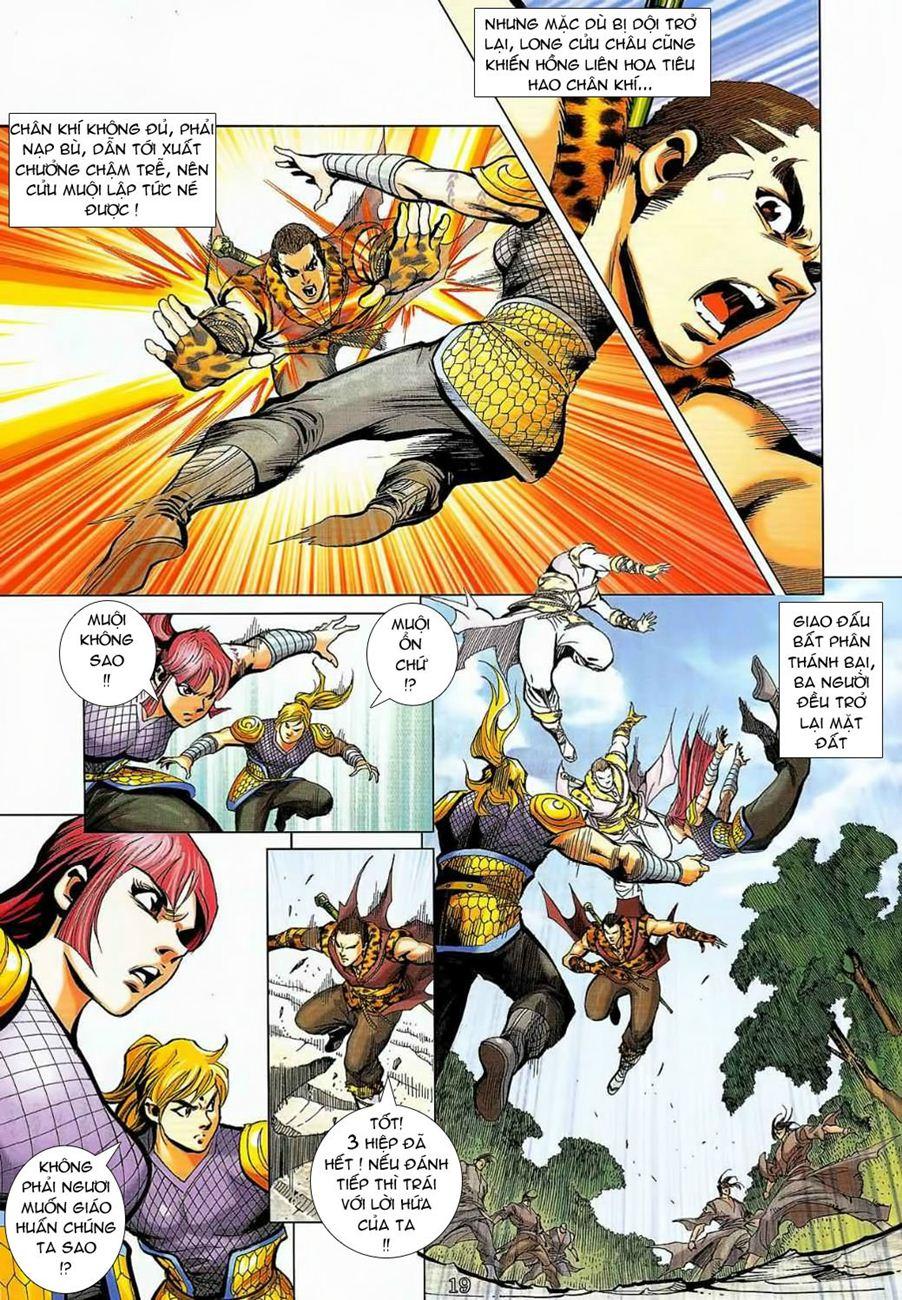 Thần Chưởng Long Cửu Châu chap 8 - Trang 19