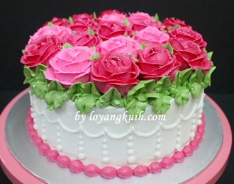 Kek Hantaran Buttercream
