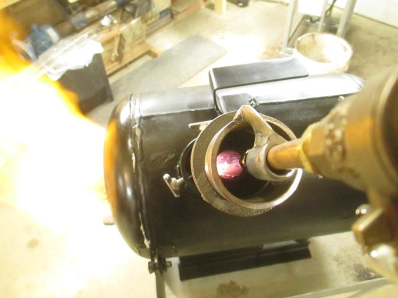 how to build a propane forge burner