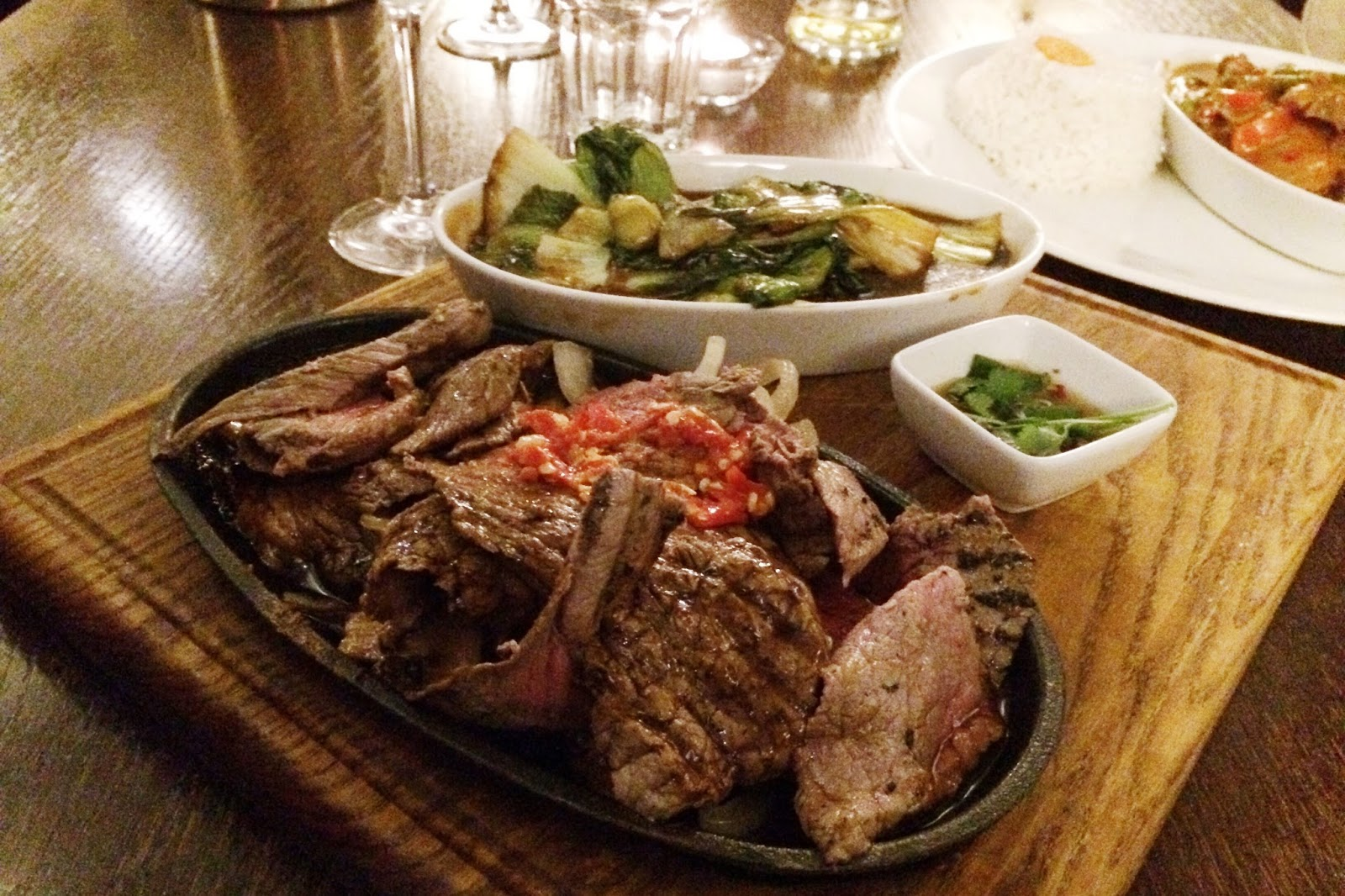 The Fox Inn Tangley review, Hampshire Thai restaurants, food bloggers, FashionFake