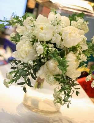 白牡丹花球