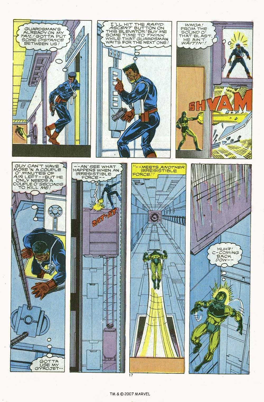 Captain America (1968) Issue #339b #269 - English 25
