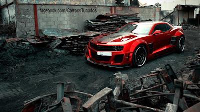 papel de parede carro vermelho