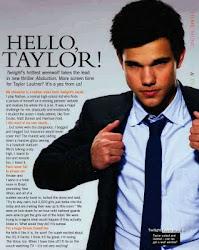 el primer beso de Taylor Loutner!