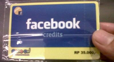Facebook Credits Mulai Dikenalkan di Indonesia