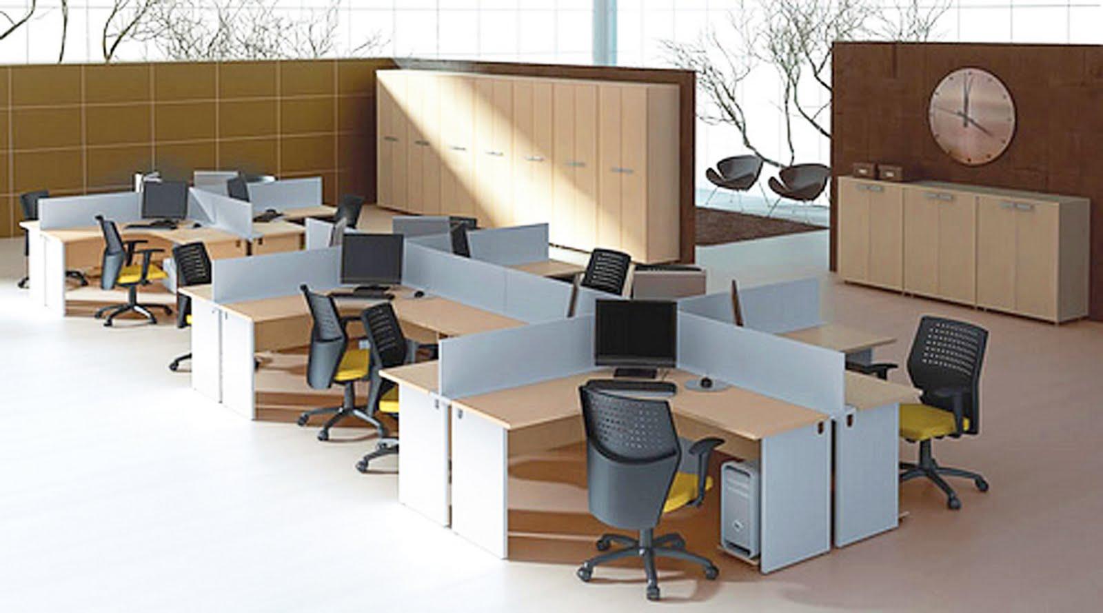Dellux Móveis: Móveis para Escritórios Planejados (Fotos) #64452C 1600x889