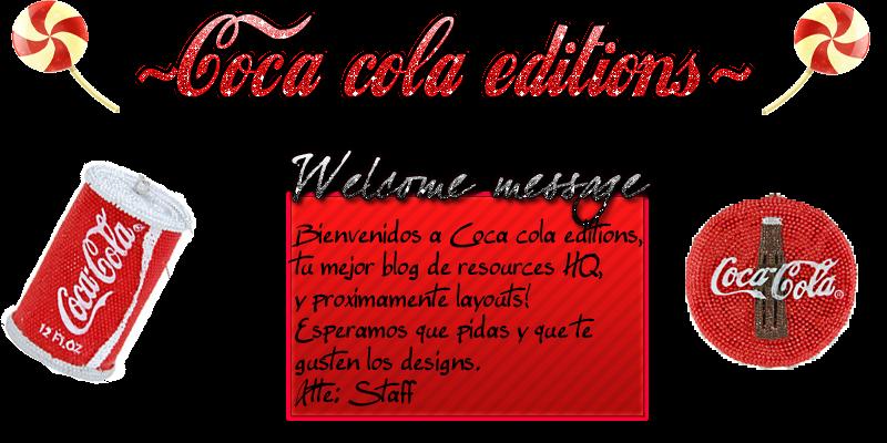 ..::Coca Cola Editions::..
