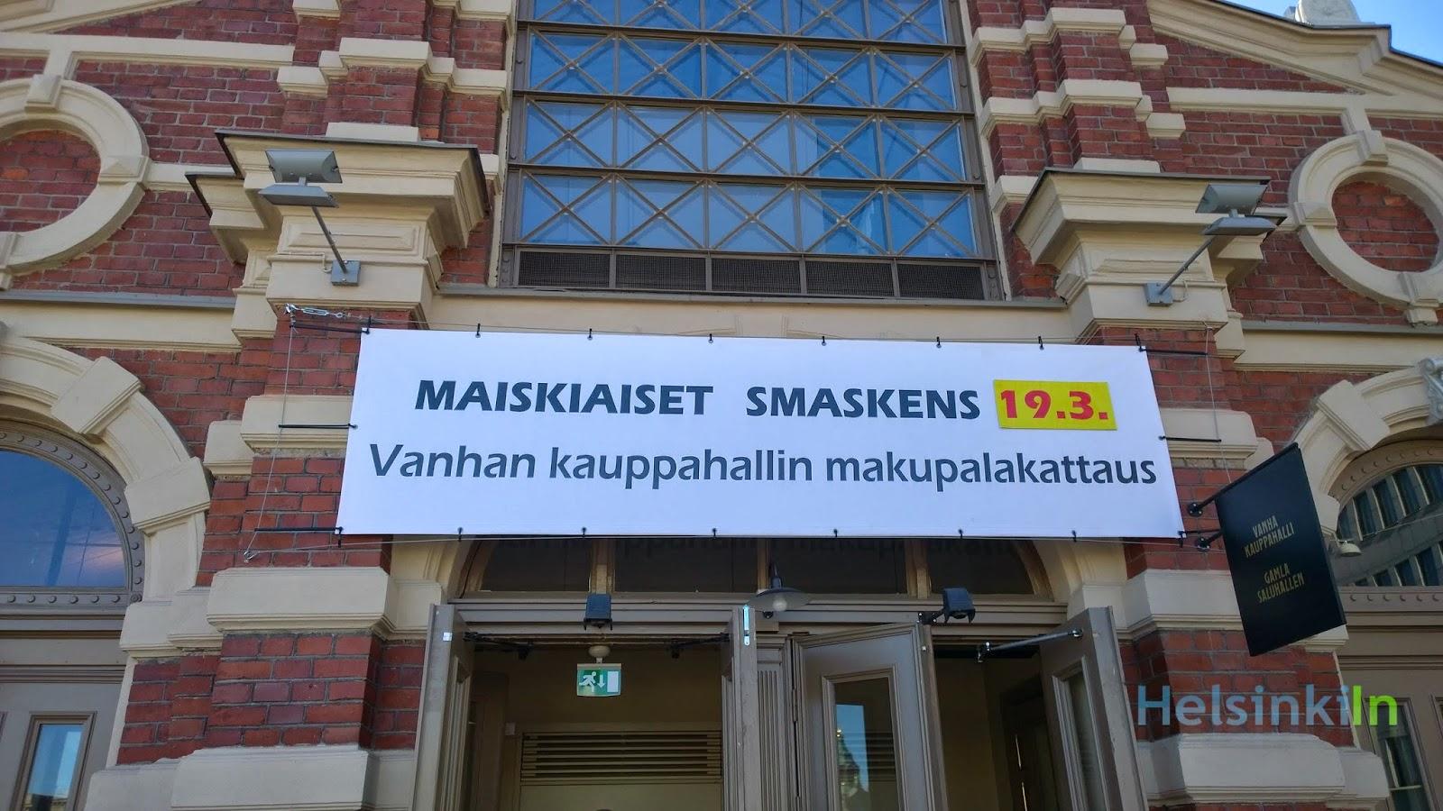 Maiskiaset at Vanha Kaupphalli