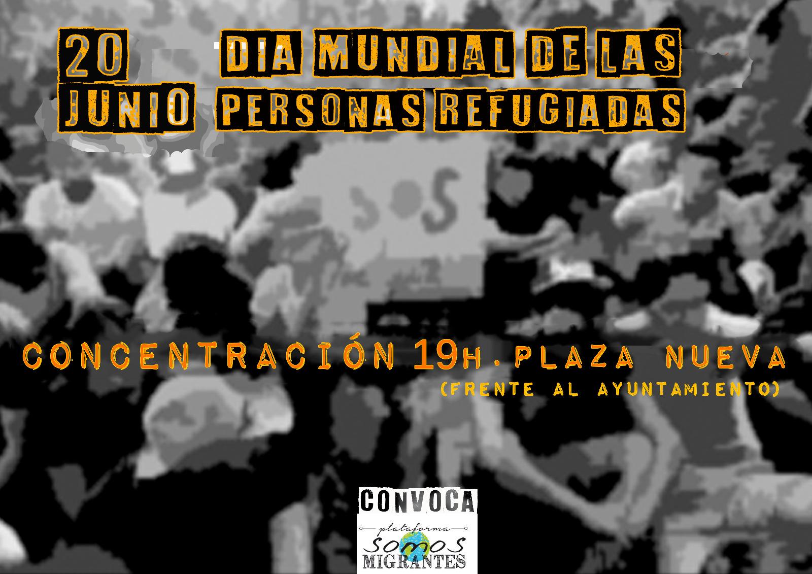 CONCENTRACIÓN DÍA MUNDIAL DE LAS PERSONAS REFUGIADAS