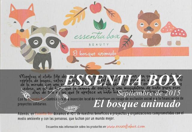 El bosque animado, la Essentia Box de Septiembre de 2015