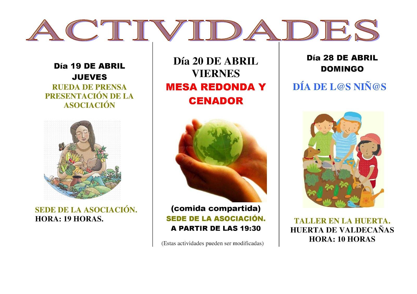 """Actividades de las Jornadas de la Asociación """"El Asturiano"""""""