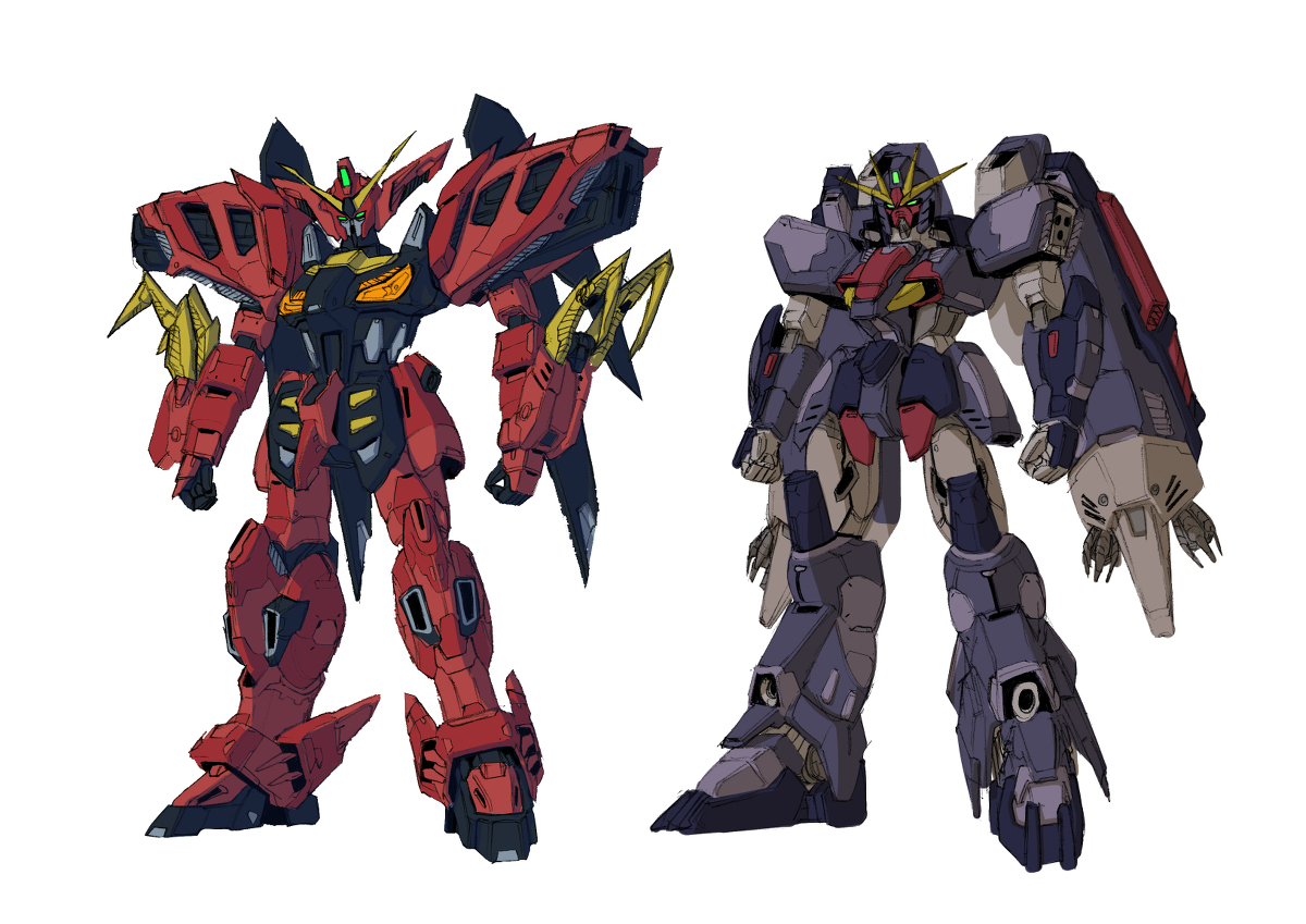 Fanart: RG Design for Gundam Virsago and Gundam Ashtaron ...