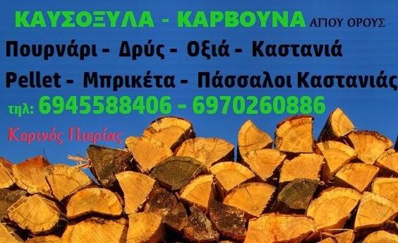 """ΚΑΥΣΟΞΥΛΑ """"ΤΖΕΜΗΣ"""""""
