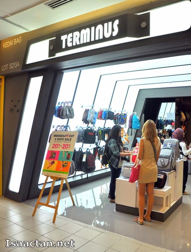 Terminus Bags By Bagman @ 1 Utama Shopping Centre, Petaling Jaya