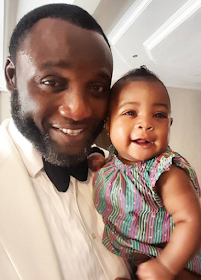 Adorable photos of Davido's daughter