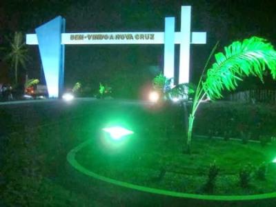 Portal da cidade de Nova Cruz