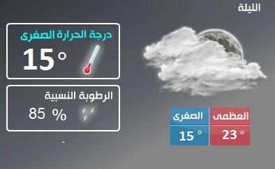 الارصاد الجوية المصرية «أخبار الطقس» فى مصر اليوم الثلاثاء 10-11-2015 ، درجات الحرارة وحالة الجو يوم غدا الثلاثاء 10 نوفمبر 2015