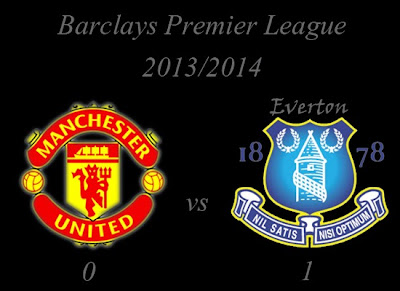 Manchester United v Everton Result November 2013
