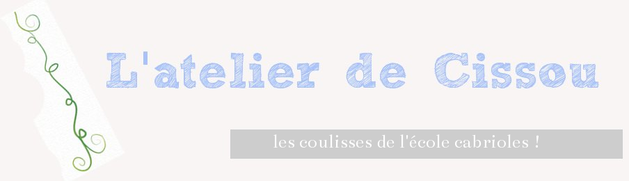 L'atelier de Cécile bricophile