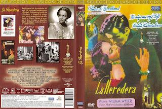 Carátula, Cover, Dvd: The Heiress | 1949 | La heredera