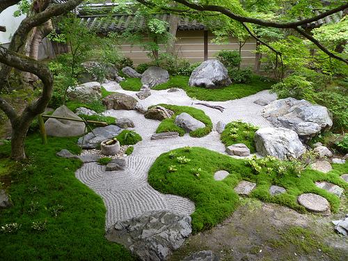 Jardins zen kare sansui for Photos jardins zen