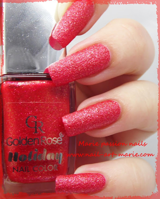 Golden Rose n°56 collection Holiday3