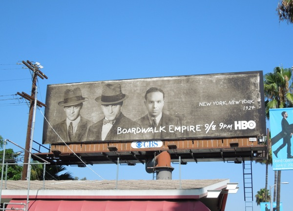 Boardwalk Empire season 4 New York 1924 billboard