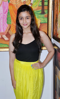 Alia Bhatt Launch Art Exhibition SPLASSH