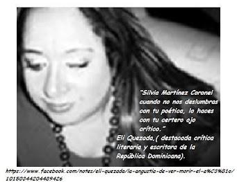 OPINIÓN SOBRE MI CREACIÓN POÉTICA Y APTITUD COMO CRÍTICA, de la crítica y escritora ELI QUEZADA