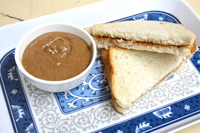 How To Make Homemade Peanut Butter   Homemade Peanut Butter Sandwich with Step by Step Recipe