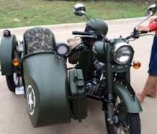 Texas 2012 with sidecar