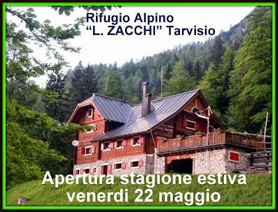 Telefono: +39 338 5030887 GIANNI +39 333 2357346 ROSA   Skype: gianni.matiz   E-mail:   info@freetrek.it   Indirizzo: Rifugio Alpino Luigi Zacchi Località Conca delle Ponze TARVISIO