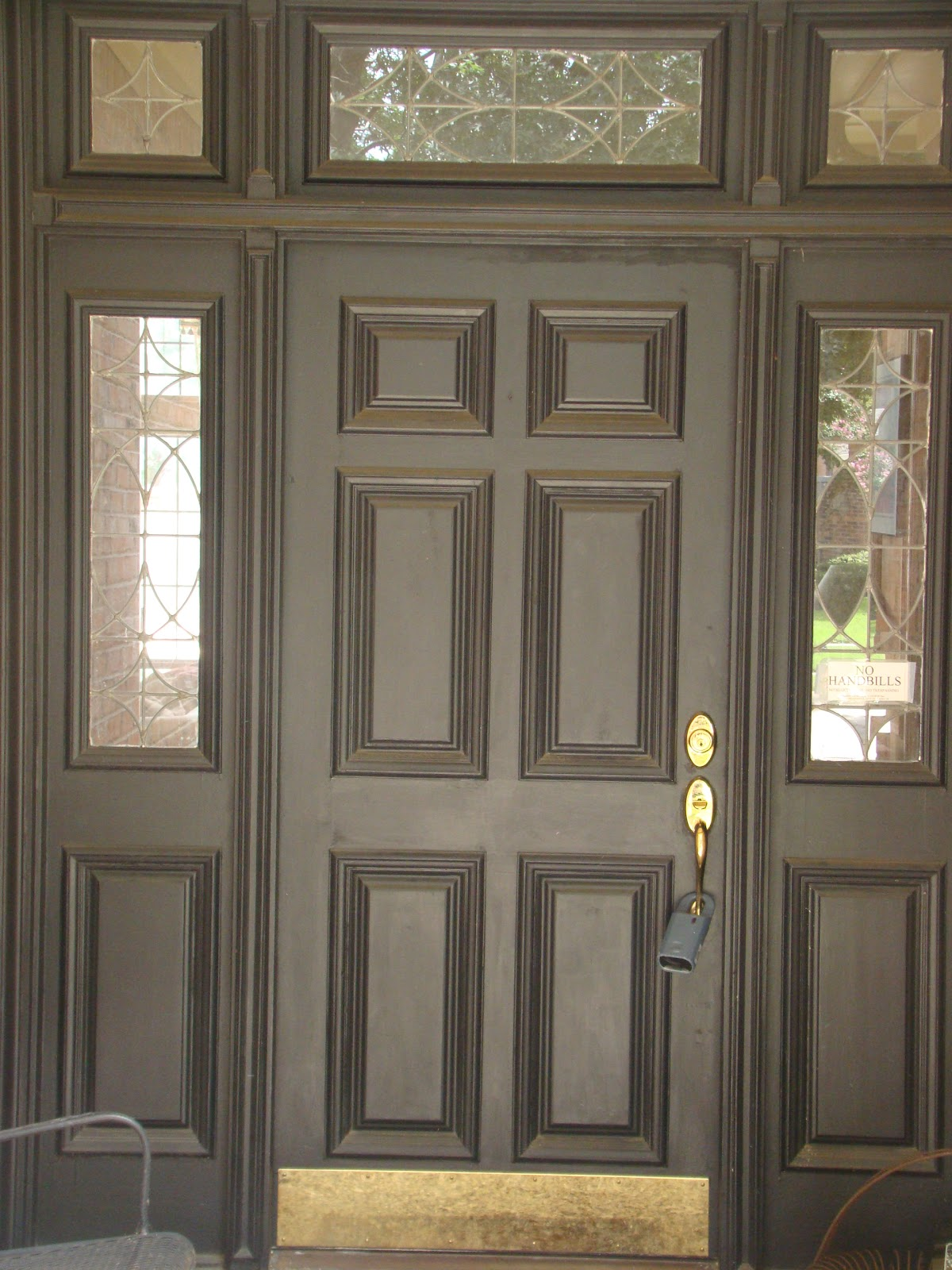 Romantic domestic entry makeover for Domestic front doors