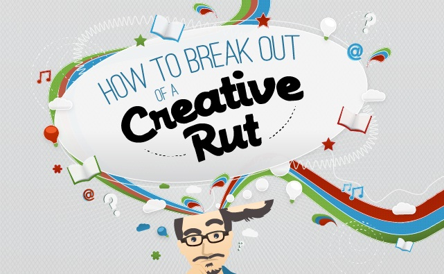 How to Become More Creative Writer, Blogger, Internet marketer and designer  - #infographic