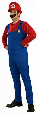 Adults Mario Fancy Dress Costume