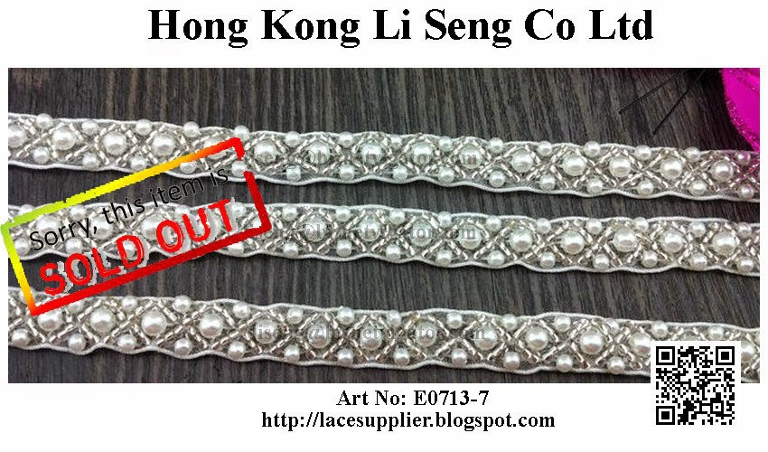 "Beading Trims Manufacturer Wholesaler Supplier - "" Hong Kong Li Seng Co Ltd """