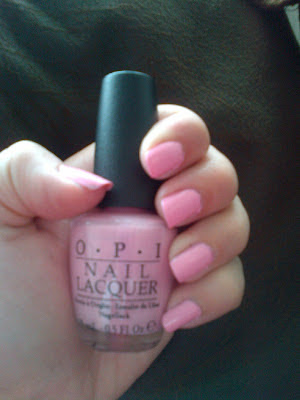 OPI nail polish varnish nicki minaj collection pink friday