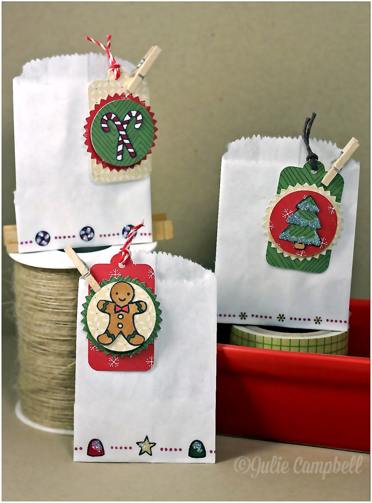 Stamped in his image lawn fawn sweet christmas treat bag trio