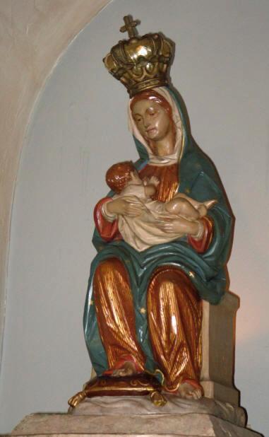 Virgen de la Leche en San Agustín de la Florida
