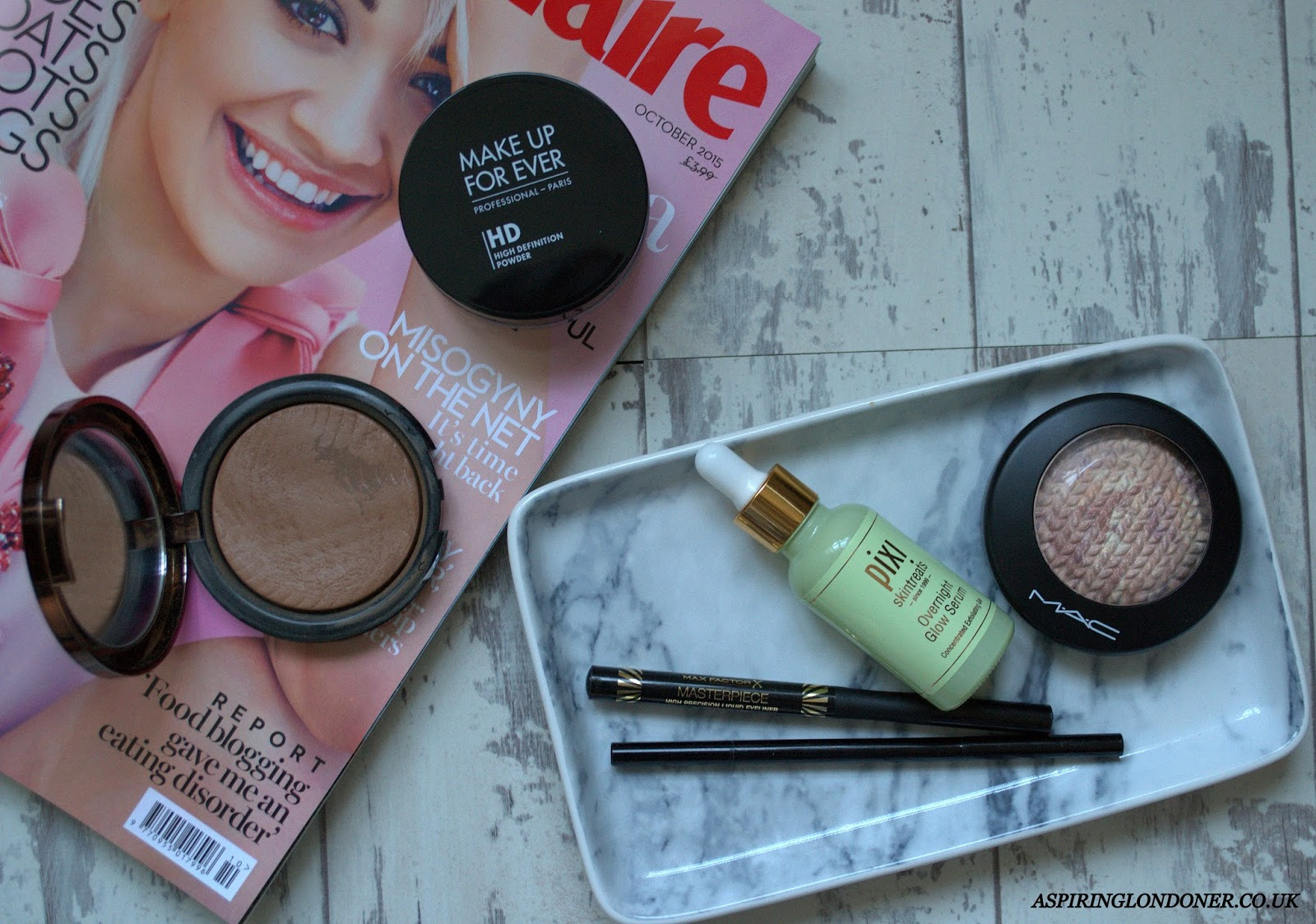 Currently Loving ft Pixi, MAC, Max Factor, MUFE, Soap & Glory - Aspiring Londoner