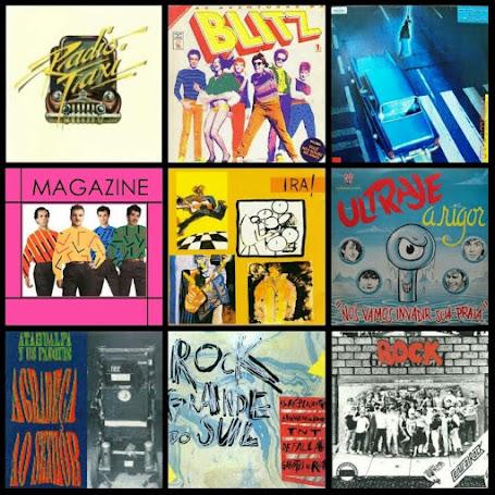 Rock brasileiro anos 80 - Plágios e heróis