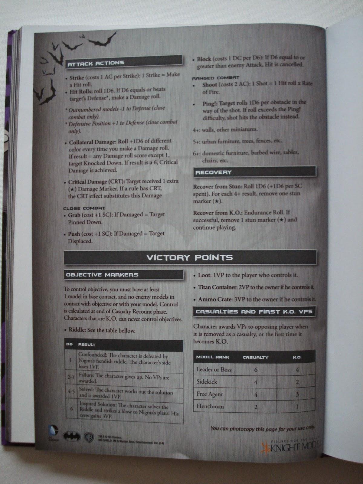 Batman Miniatures Game – New Rulebook | Wargaming Hub
