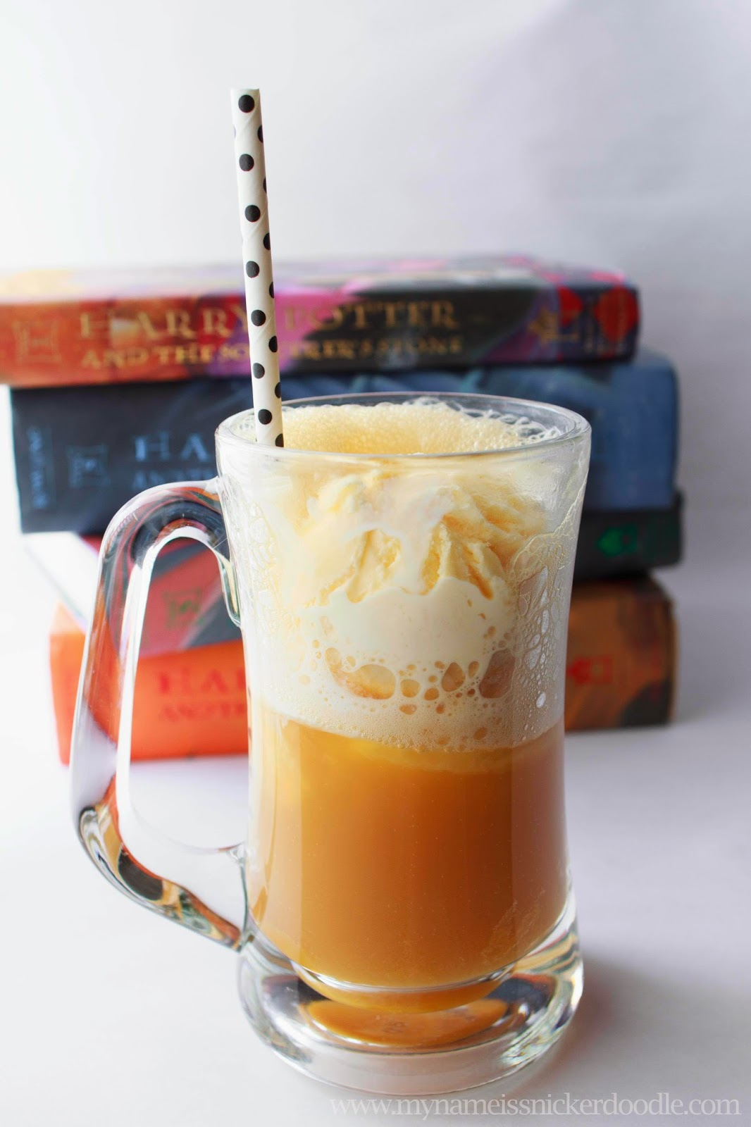 Butterbeer Floats | My Name Is Snickerdoodle