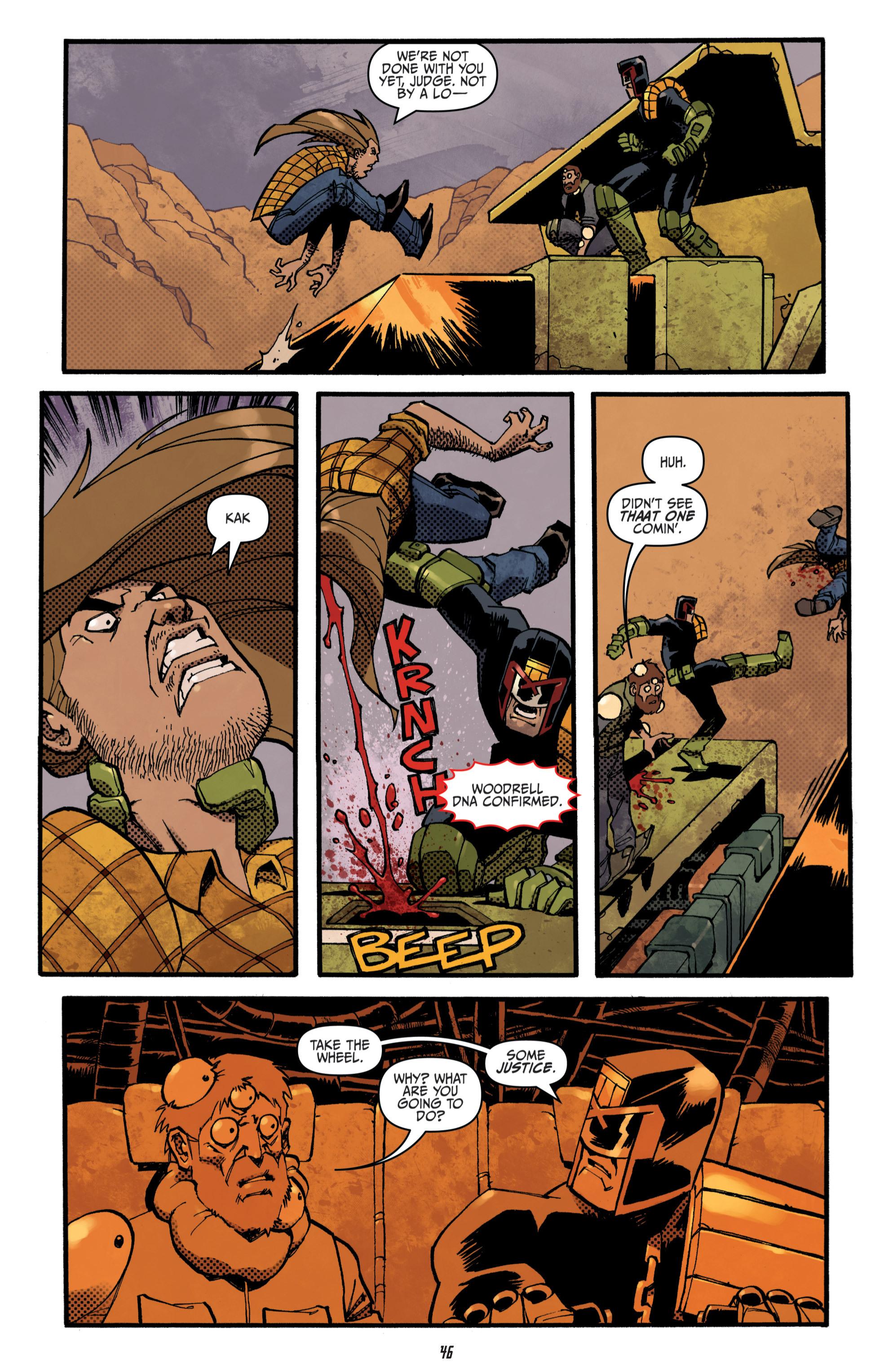 Read online Judge Dredd (2012) comic -  Issue # _TPB 3 - 46