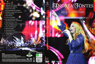 DVD Andréa Fontes – Deus Surpreende (2015)